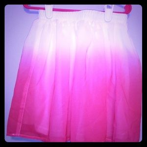 Girl Pink & White skirt